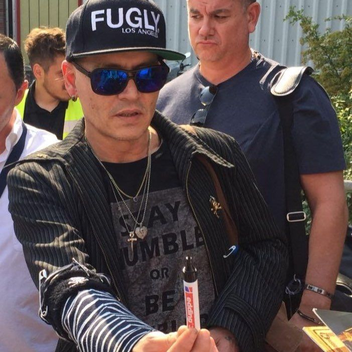 Johnny Depp In Deutschland