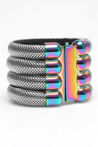 Proenza Schouler treated metal cuff from spring 2010