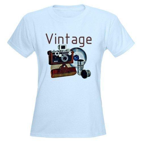 vintage camera tee