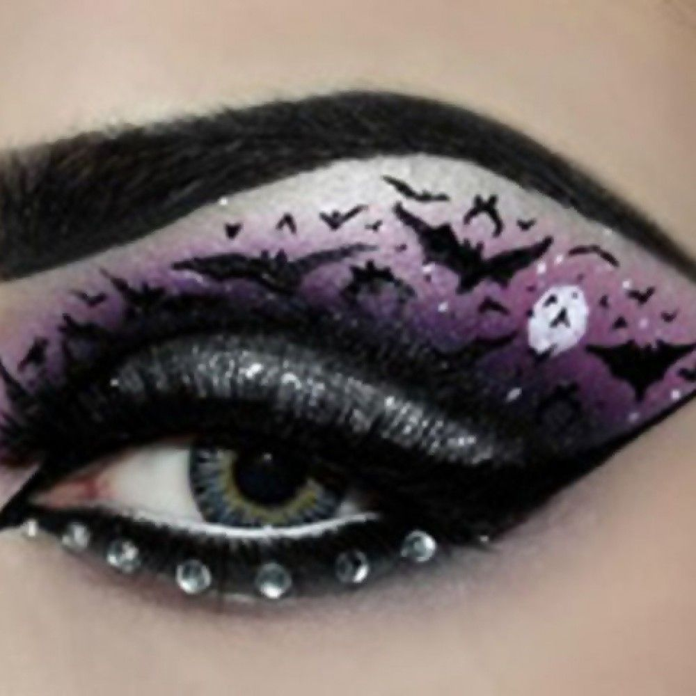 Halloween Eye Makeup Ideas Witches Frameimage
