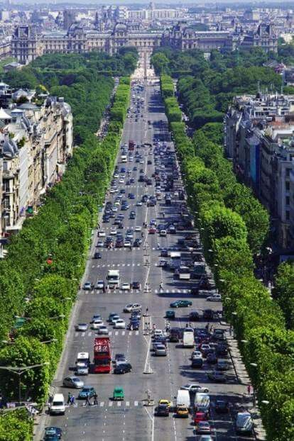 The Avenue des Champs-Elysées is the most prestigious and most famous street in Paris and possible in the whole world. It stretches all the way from the Place de la Concorde to the Arc de Triomphe.