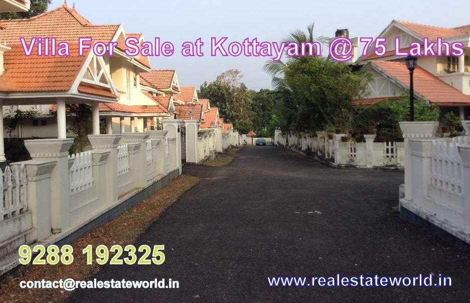 Villa For Sale At Kottayam 75 Lakhs More Details Http Realestateworld In Real Estate Best Color Schemes Villa