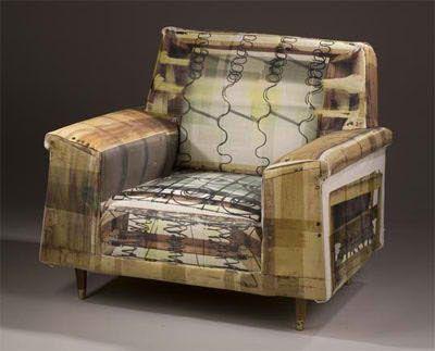 tapizado sillones tutoriales muebles d arte trompe luoeil trabajo de los estudiantes rhode island apartment therapy