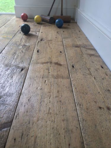 Reclaimed Georgian Pine Floorboards 9