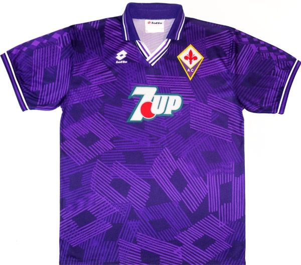 133d34061e3e68 1992-93 Fiorentina Home Shirt XL | Football Kits (Soccer Jerseys ...