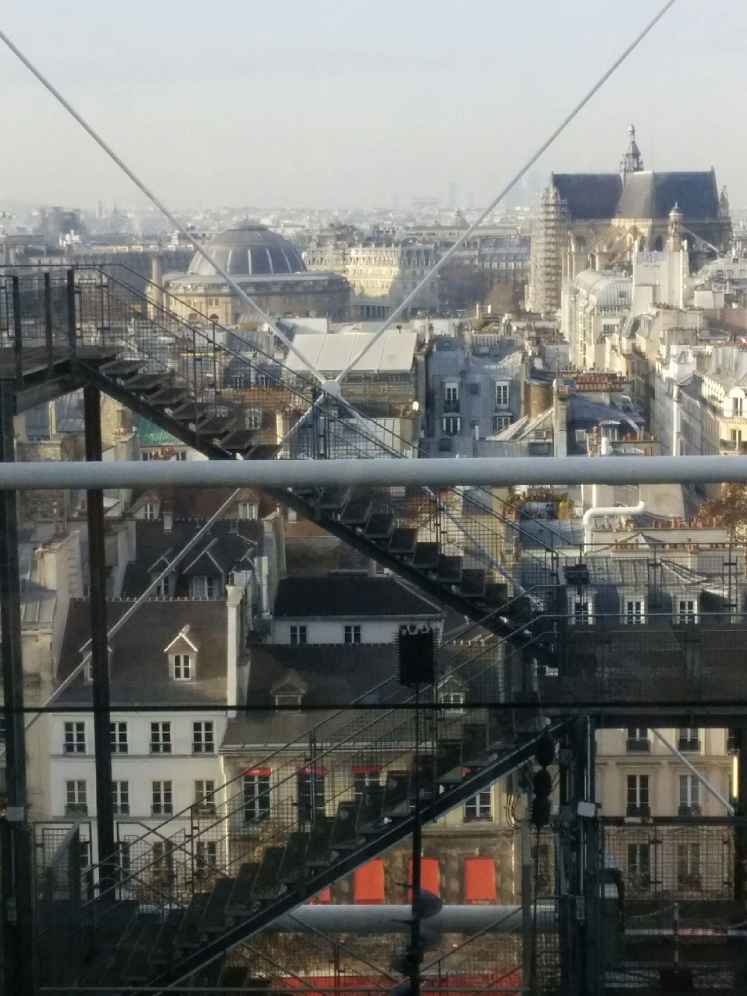 Paris from the Centre Pompidou. Photo S. Estournet