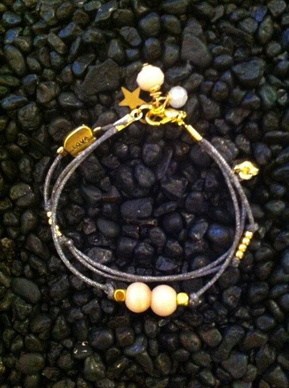 Waxcord bracelet