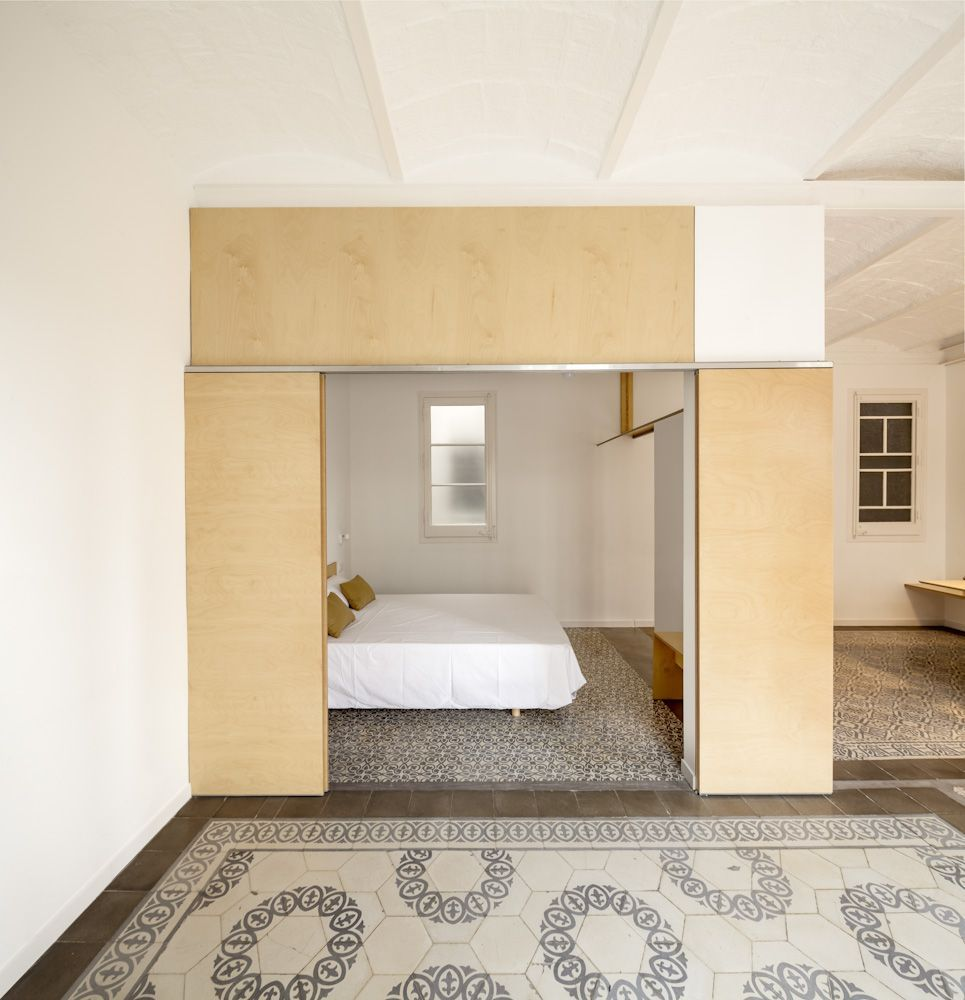 Adrián Elizalde /// apartment renovation @ Barcelona, Espagne