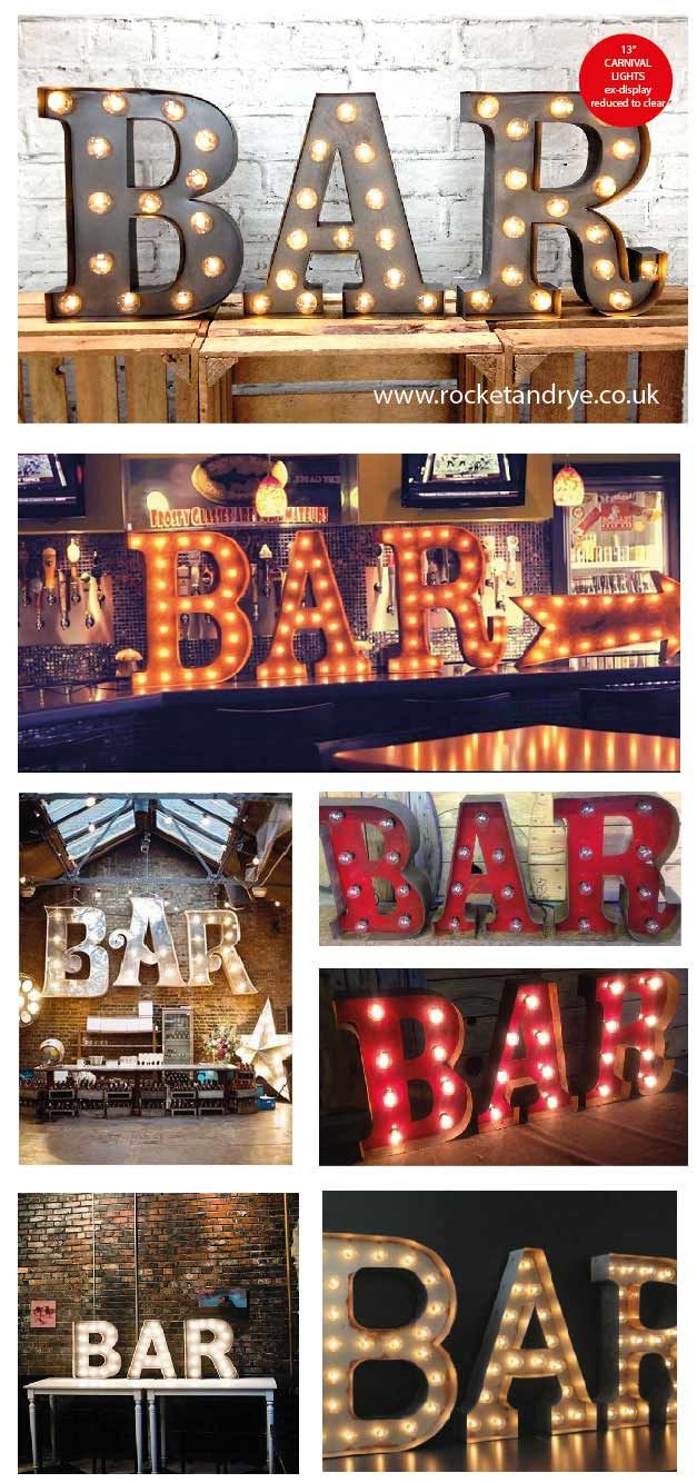 Some great BAR sign ideas, you can make your own with our 13 ...