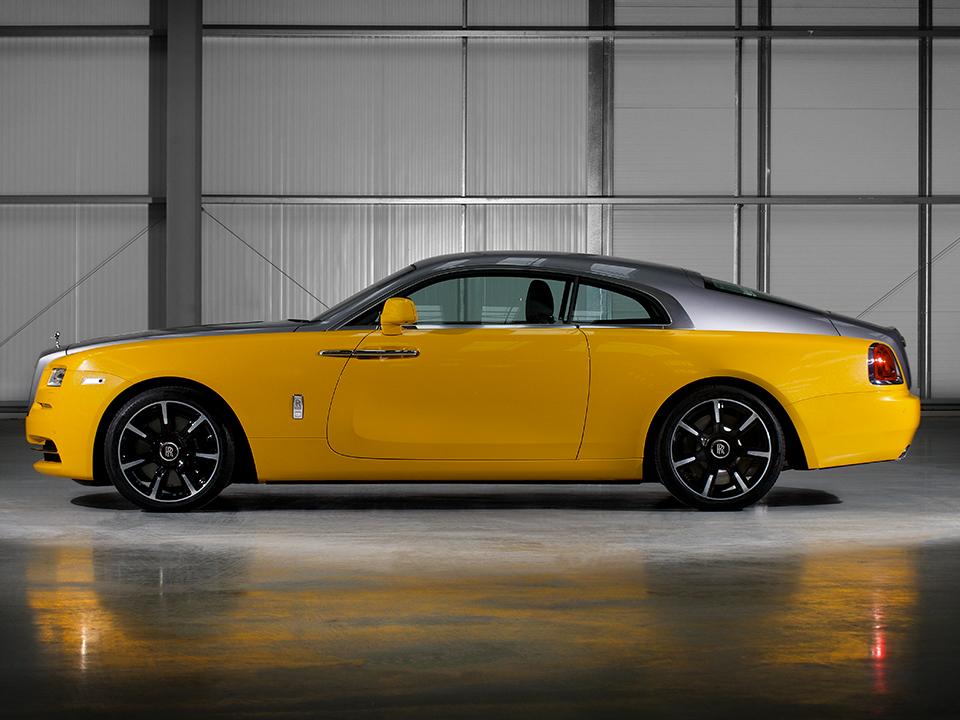 The Yellow Rolls Royce Reborn In Bespoke Wraith Rolls Royce Rolls Royce Wraith Rolls Royce Coupe