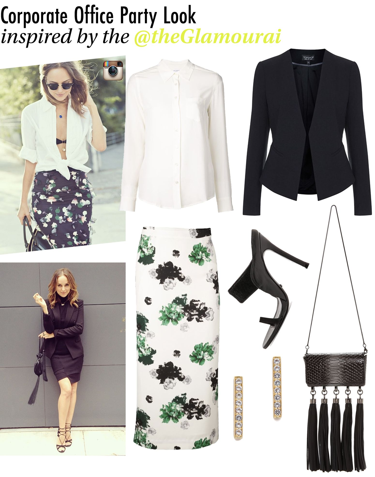 Holiday Outfit Idea   Kelly Framel   The Glamourai