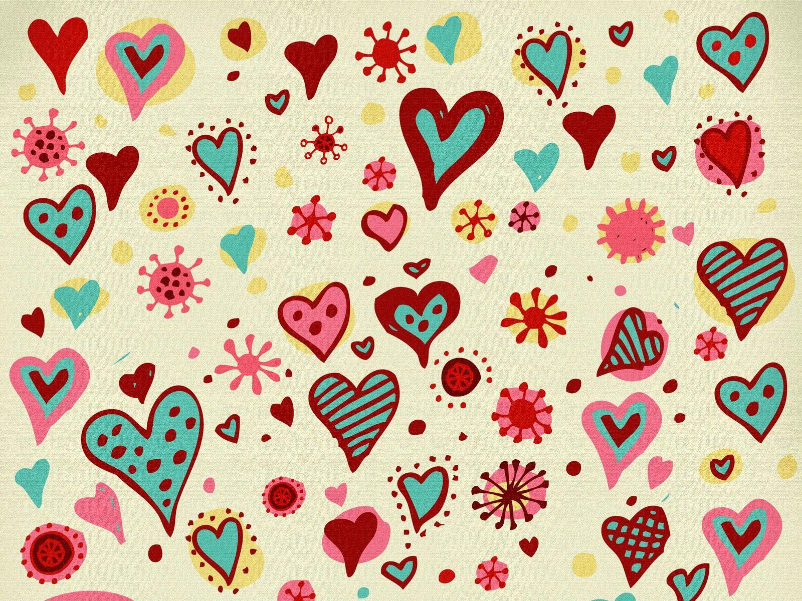 Corazones Fondo De Pantalla: Fondos De Pantalla Para Celulares Corazones Y Flores