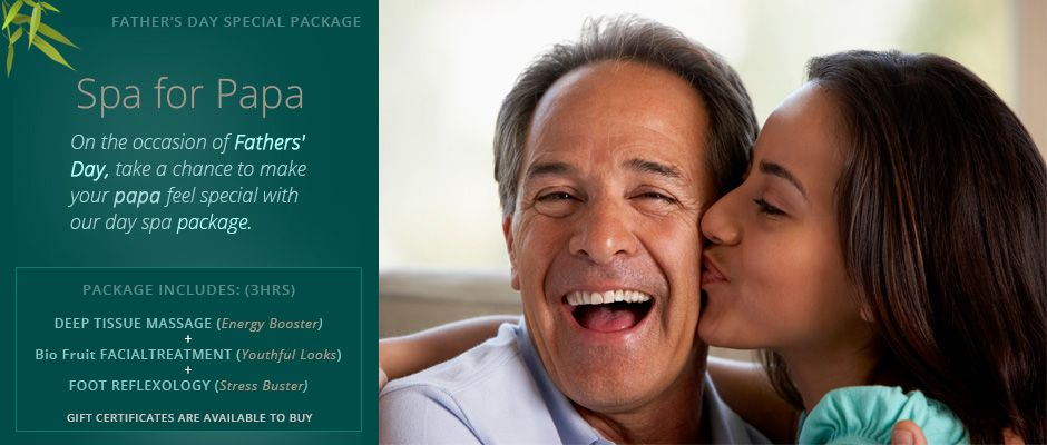 Father's Day Special Package at Heritage Spa