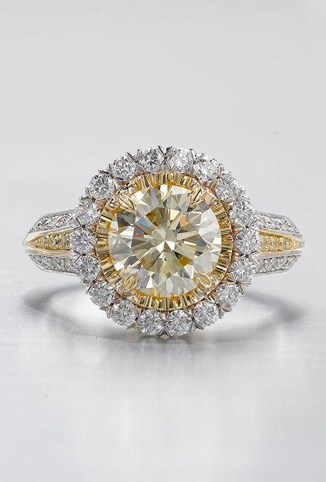 Yellow Diamond Engagement Rings Yellow Diamond Engagement Ring Yellow Diamonds Engagement Wedding Rings Engagement