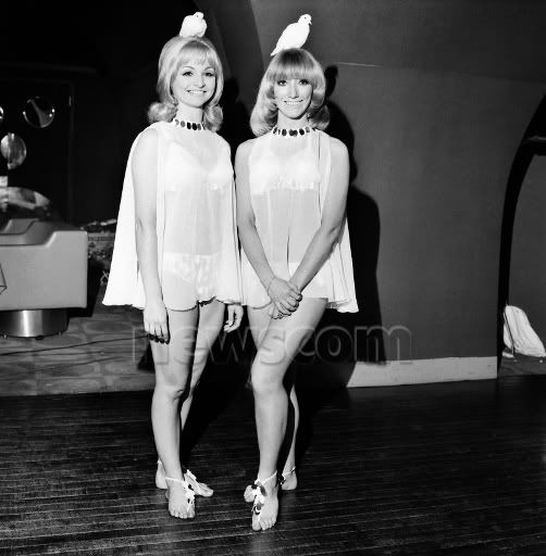 Ann Chapman and Lesley Judd (on the right)