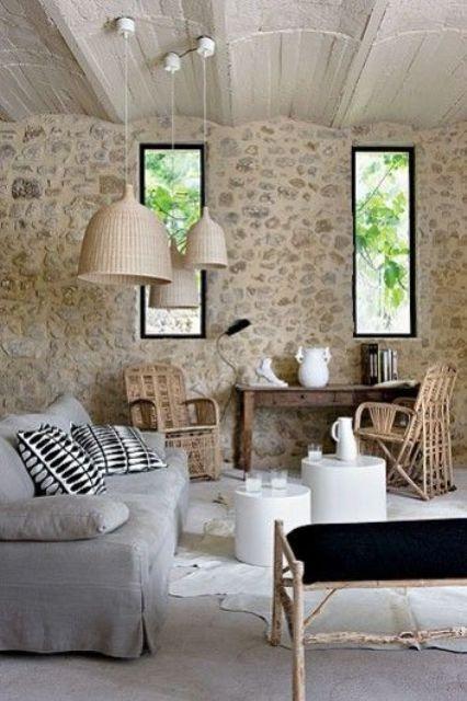 Interior en crema