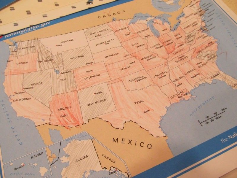 US map US map Travel