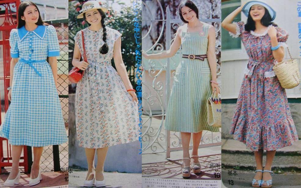 80年代 ファッション ワンピース , Google 検索