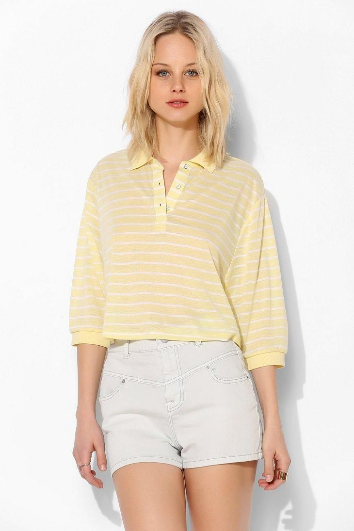 BDG Game Point Polo Top #urbanoutfitters