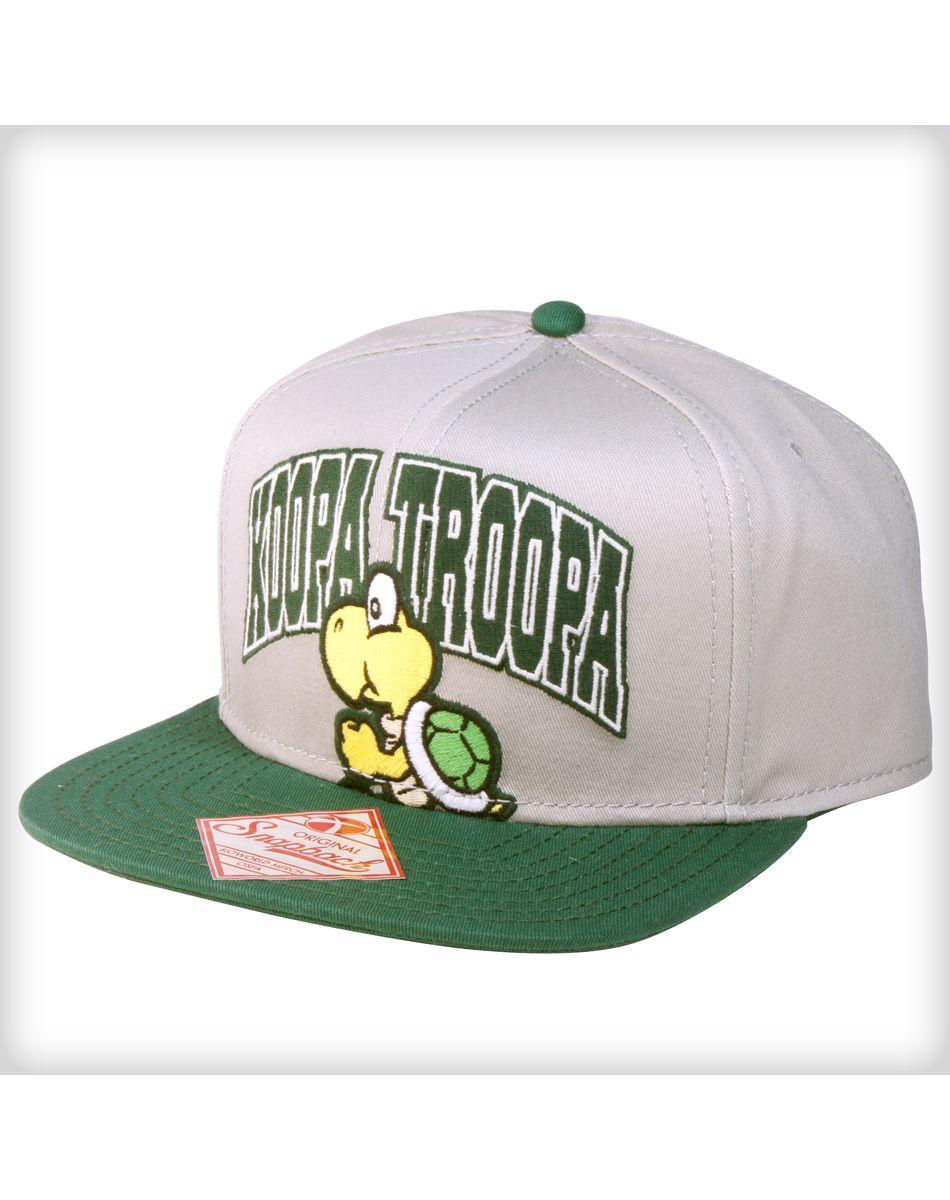 6dd0fce30ff Koopa Troopa Snapback Hat
