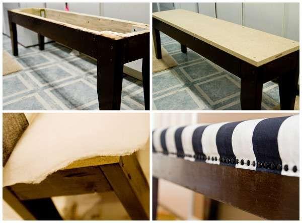 14 façons de fabriquer un banc original | Decoration