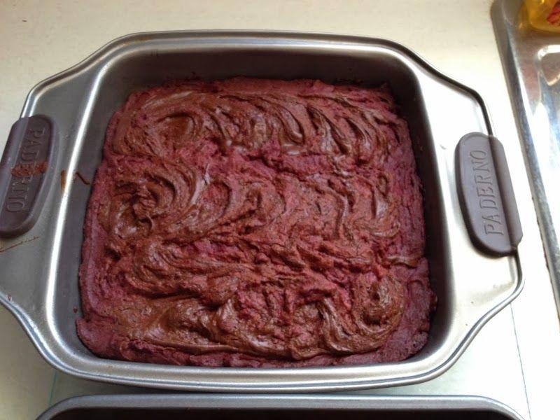 Red Velvet Chocolate Swirled Brownies http://www.crazy-good-cooking.com/2014/02/red-velvet-chocolate-swirled-brownies.html