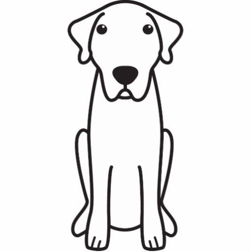 Anatolian Shepherd Dog Cartoon Cut Outs