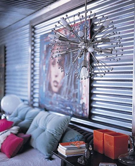 Home Dzine Craft Ideas Uses For Corrugated And Galvanised