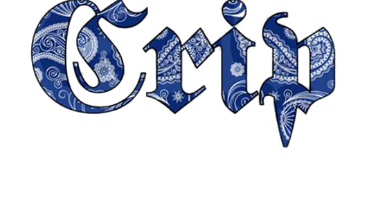 Crips Gang Logo See This Beat It Weed Drugs Fucked Up Shit