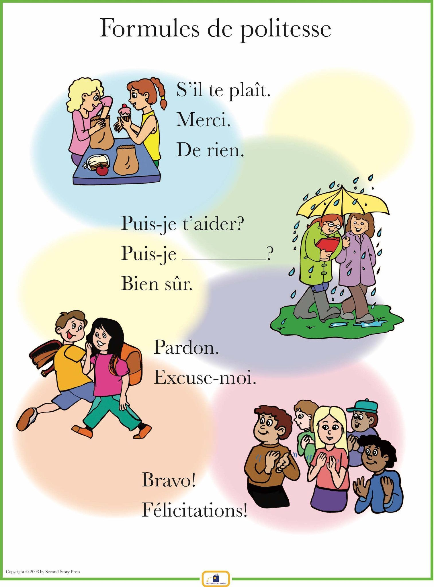 French Courtesies Poster
