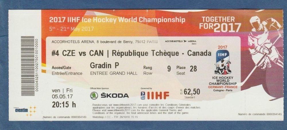 Orig.Ticket     Eishockey WM OSLO 1958   CANADA RARITÄT CSSR  ! Norwegen