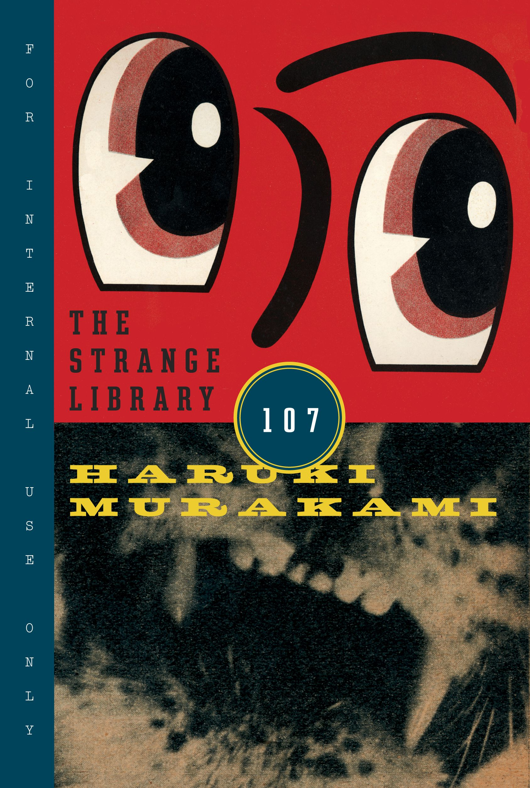 Book cover the strange library by chip kidd haruki