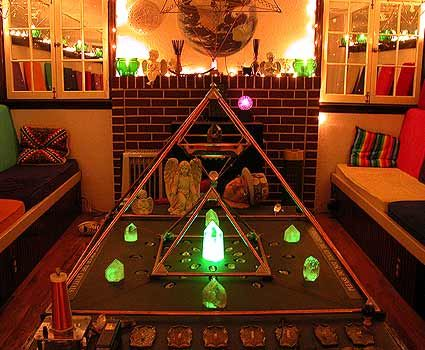 simple crystal grids | The Rainbow Chamber - by Gary Johnson