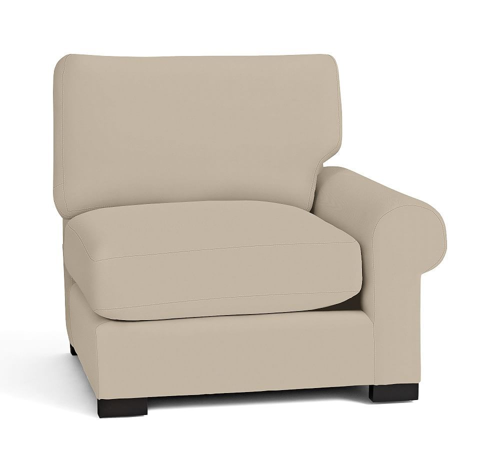 Turner Roll Upholstered Left Arm Love Seat Sectional