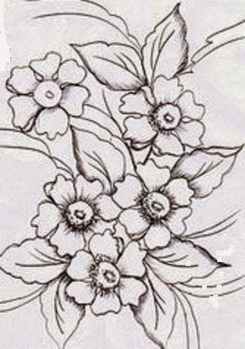 Pid7ff 7e1 Jpg 501 714 Com Imagens Esbocos De Flor Padroes