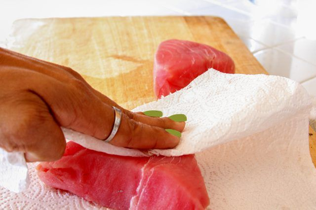 how to cook tuna fish fry