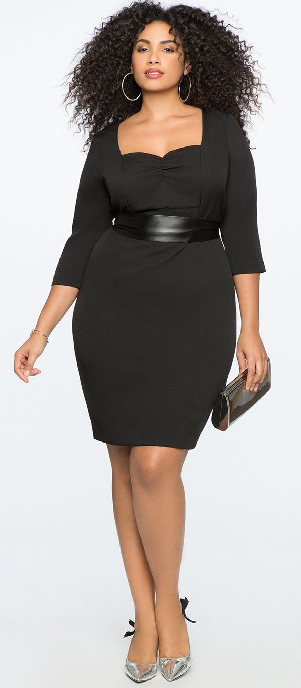 39 Plus Size Spring Wedding Guest Dresses {with Sleeves #weddingguestdress