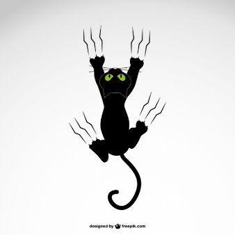 Kostenlos Katze Silhouettebilder Geniessen Katzen Silhouette Katzen Vector Illustration Katze