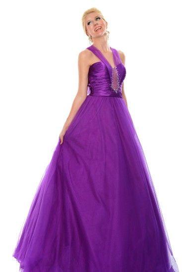 A beautiful purple prom dress from Precious Formals. | Prom Dresses ...