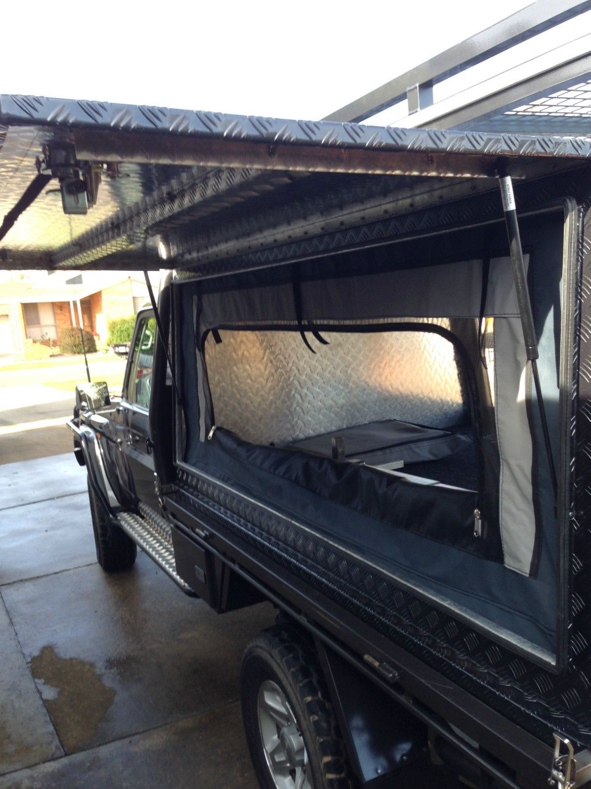 Lift OFF Canopy Camping Canvas Road Camper Trailer Landcruiser In Parkdale VIC