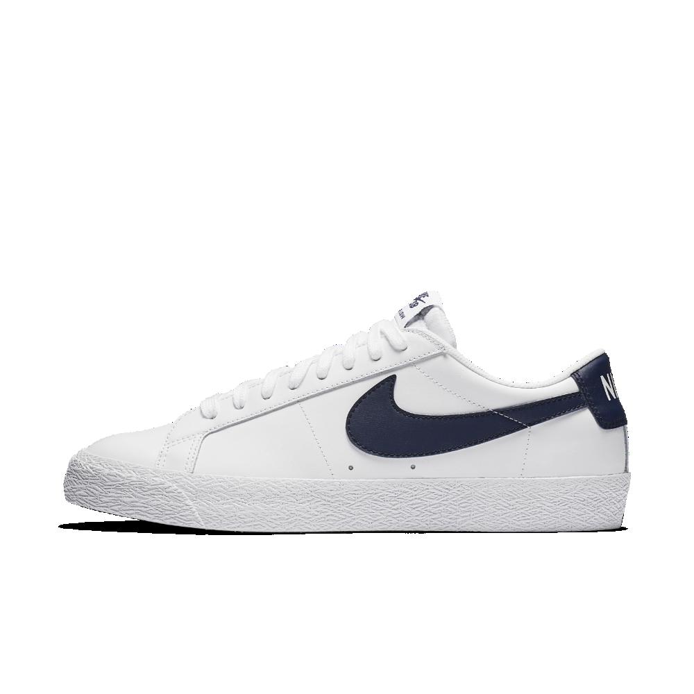 free shipping 63e82 b1330 Nike SB Blazer Low Men s Skateboarding Shoe Size 10.5 (White)