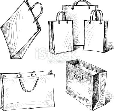 A Vector Of For ShoppingNew Drawings Bags Sac Shopping BdxrCoeW