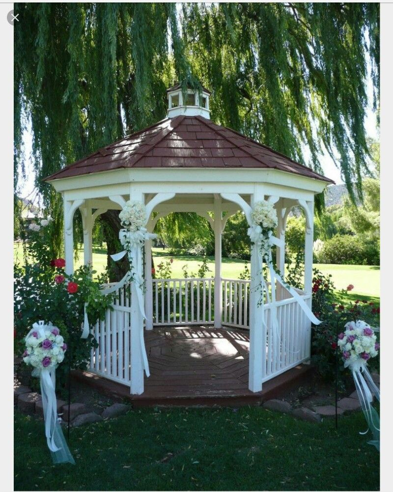 B Wedding Gazebo At Poco Diablo Resort