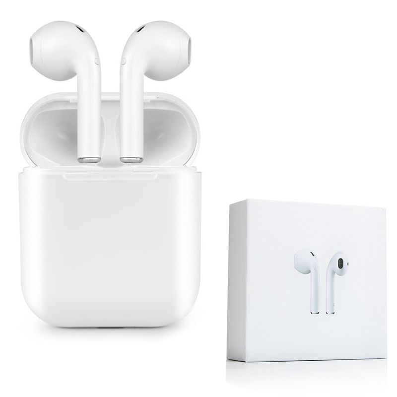 2018 New Ifans I9 Bluetooth Mini Double Ear Earbuds Earphone Wireless Air Headsets Pods With Mic For I Bluetooth Earphones Bluetooth Earbuds Wireless Earphones