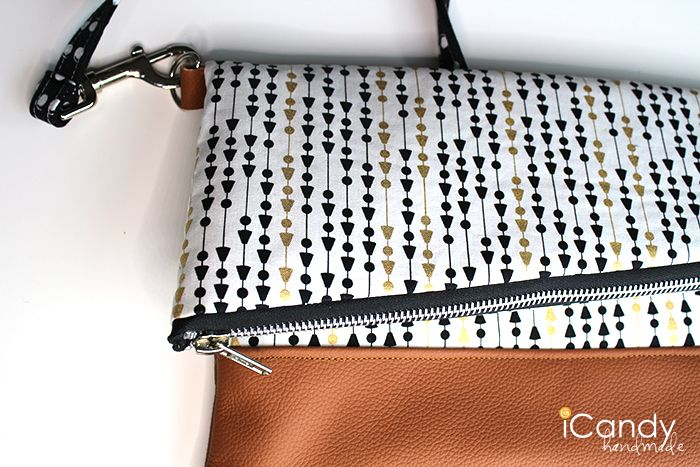 DIY Foldover Clutch Strap Tutorial iCandy2