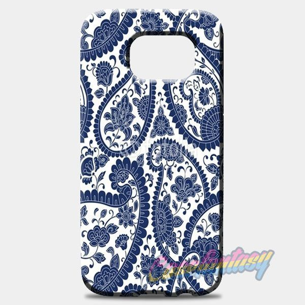Traditional Paisley Floral Pattern Samsung Galaxy S8 Case | casefantasy