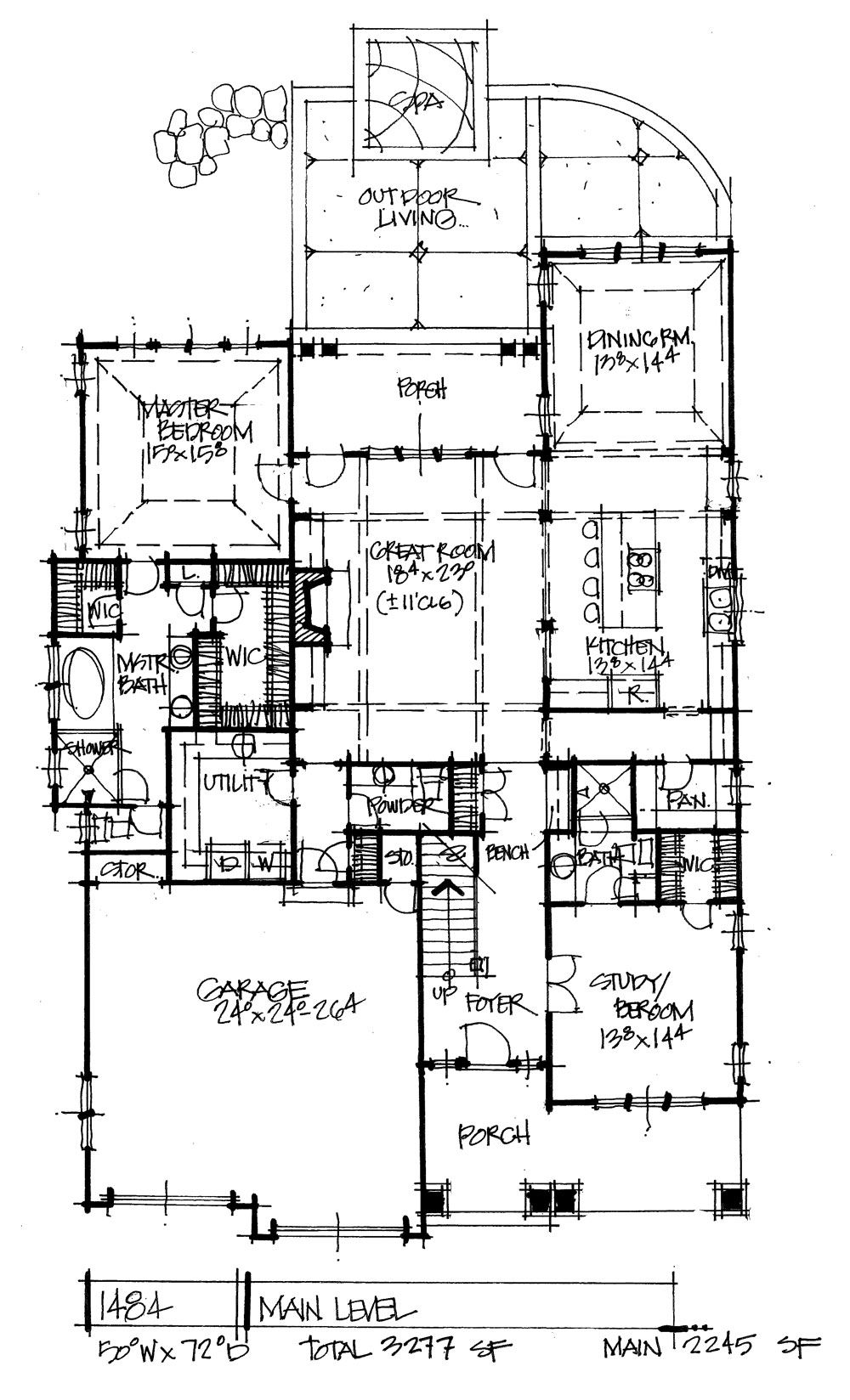 House Plan 1484 Two Exterior Options House Plans Craftsman Floor Plans New House Plans