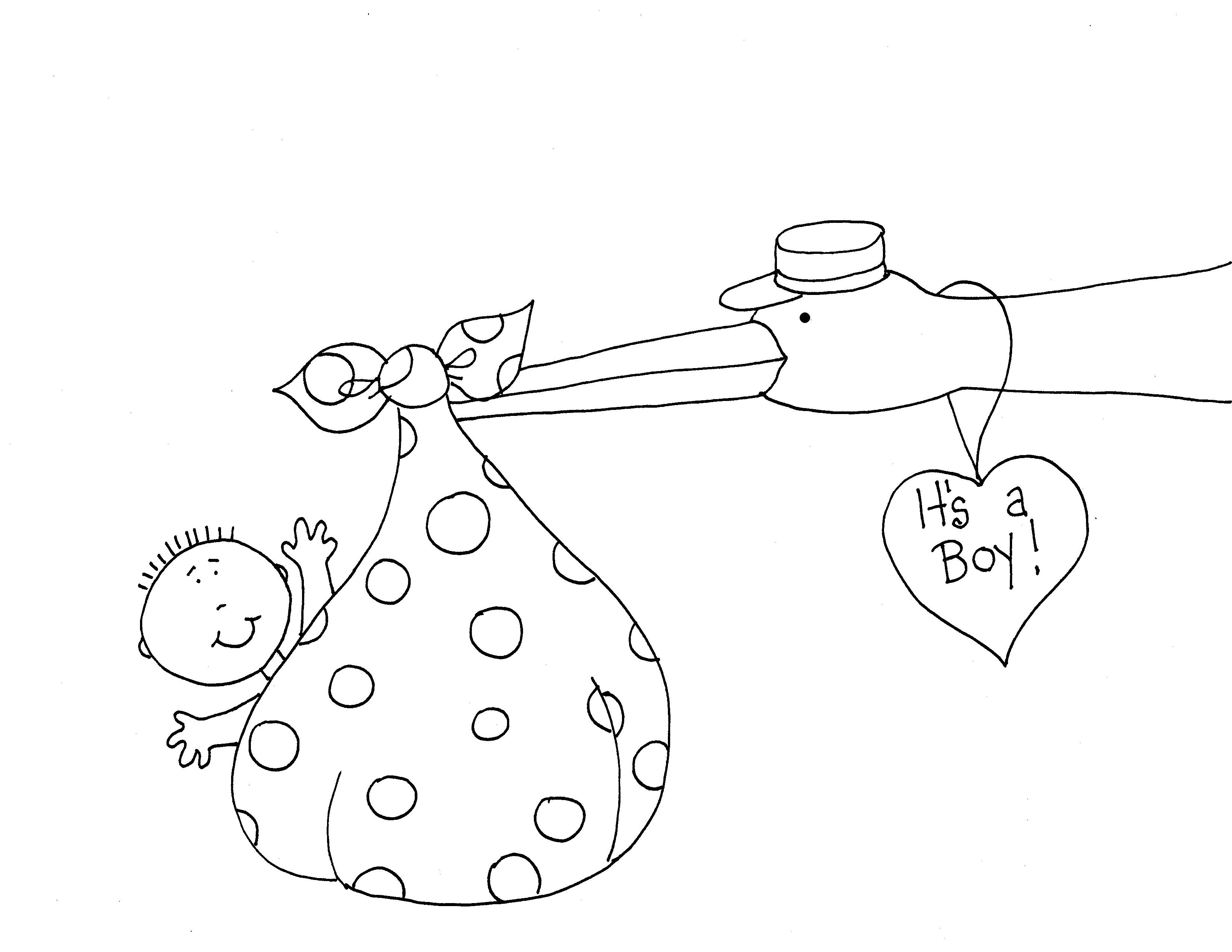 Dearie-Dolls-Its-a-Boy.png (25×25)  Coloriage, Broderie point