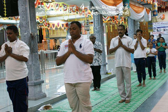 Yoga,Meditation & Satsang 3 day class at Karpaga Vinayagar Temple, Kajang, Selangor Malaysia.