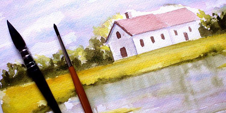 Voici un exercice qui, je l\u0027espère, vous donnera envie de peindre - plan d une maison simple